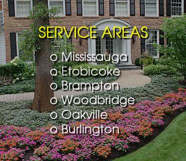 Lawn Care Service Areas